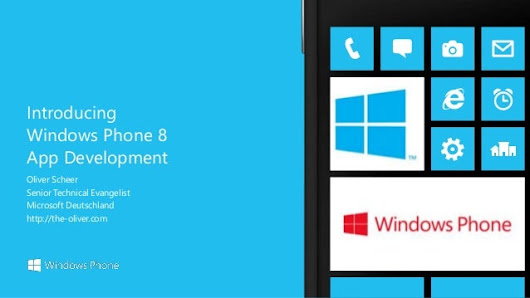 Windows Phone 8 - introducing wp8 development
