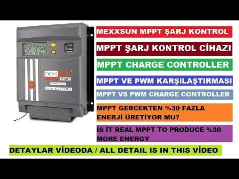 MPPT Solar Şarj Cihazı Ürün İncelemesi ve Kurulumu, MPPT ve PWM Solar Şarj Cihazı Arasındaki Farklar