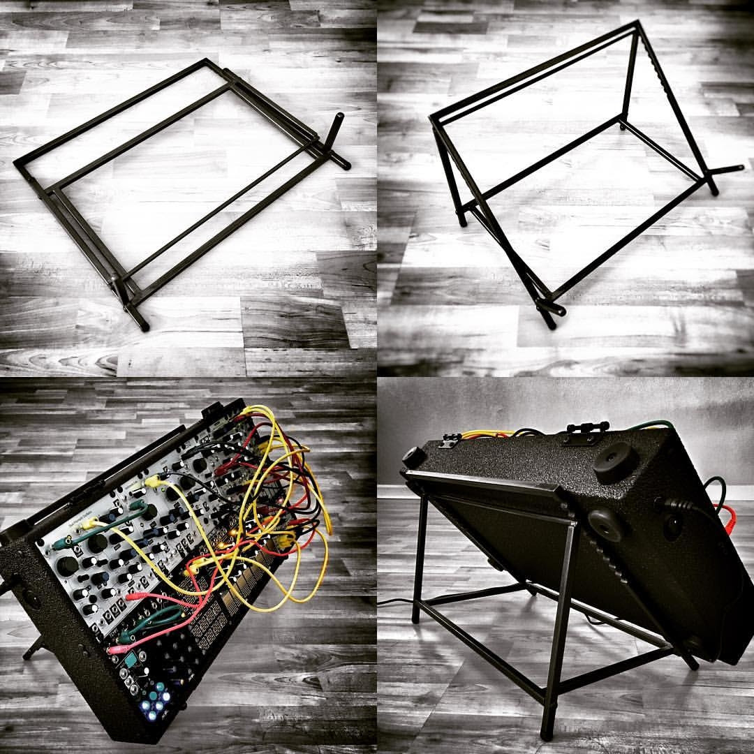 Make Noise Co Blued Steel System Stand