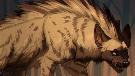 Artwork hyena wallpaper   (72115)