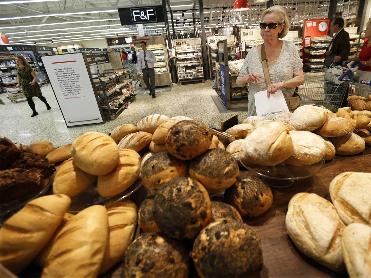 In supermarkets, high margin departments like floral and fresh baked goods are placed near the front door, so you encounter them when your cart is empty and your spirits are high.