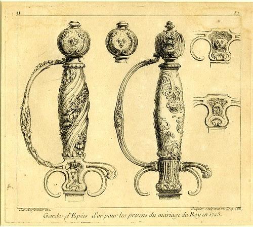 L'Oeuvre de Juste-Aurèle Meissonnier (series title) (by Gabriel Huquier; 1738-1751)