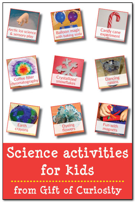 Science activities for kids - Gift of Curiosity