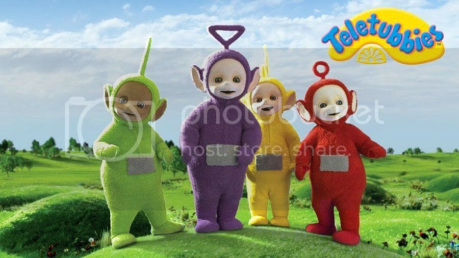 Teletubies in Canada