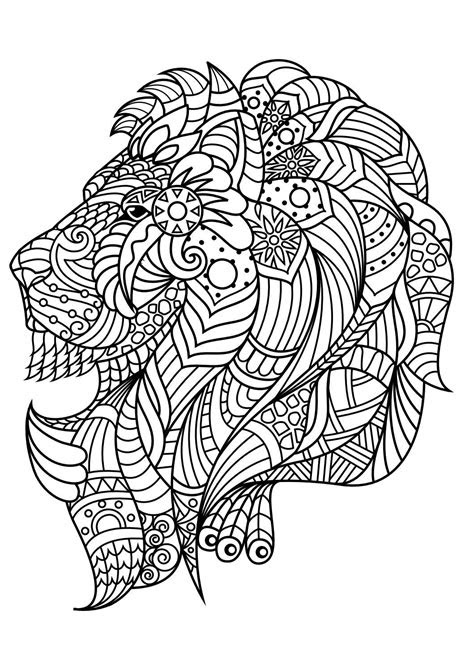 animal coloring pages  coloring animals mandalas