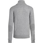 Alta Men's Casual Long Sleeve Half-Zip Mock Neck Sweater Jacket