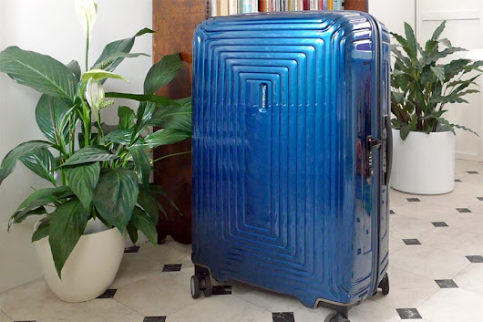 Samsonite Neopulse Suitcase Review via @Duifhuizen