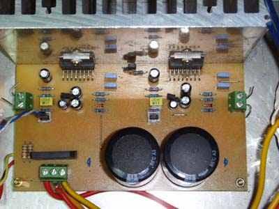 Mono 200w Stereo 200w Anfi với TDA7294