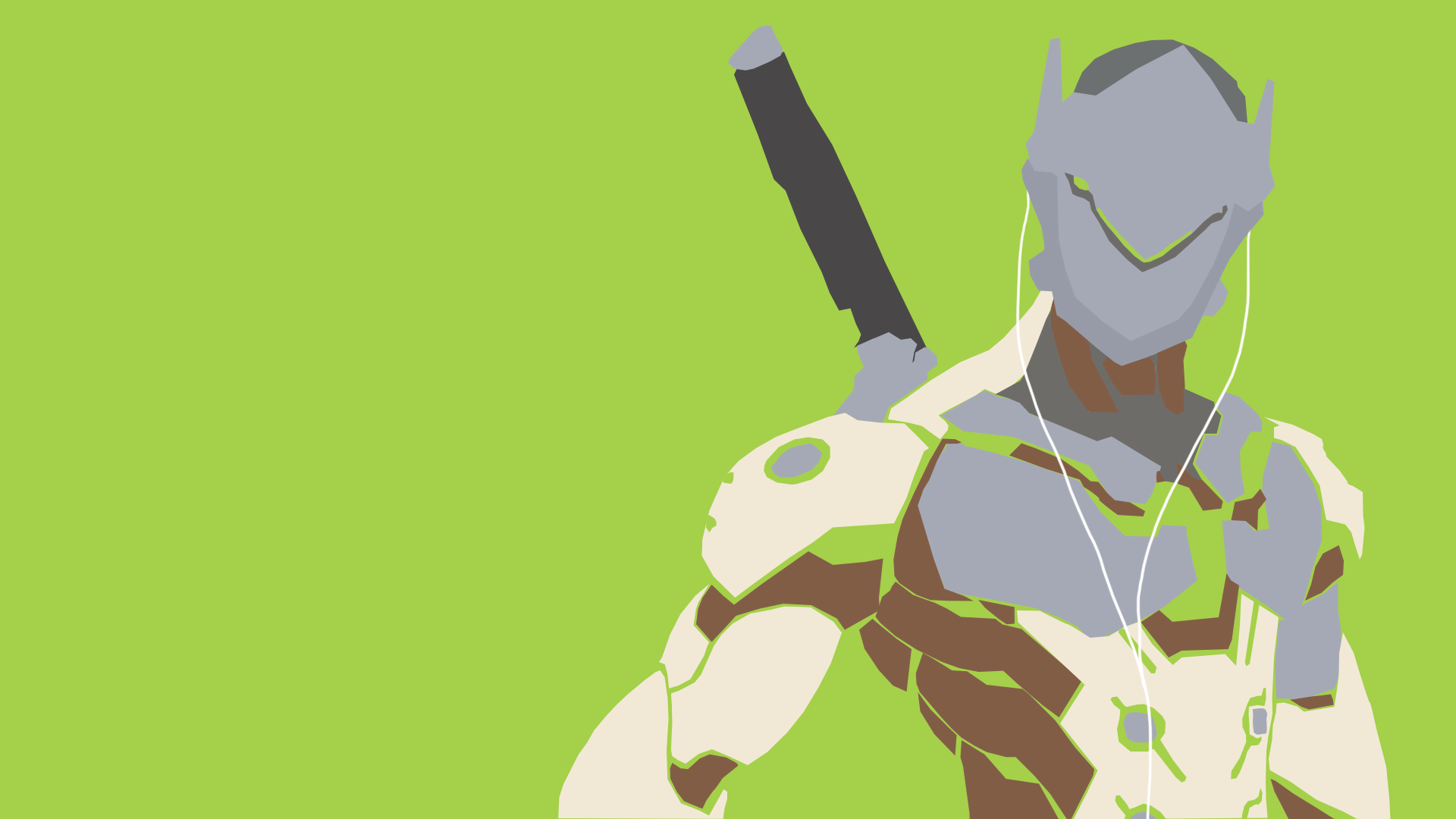Overwatch Vector Wallpaper