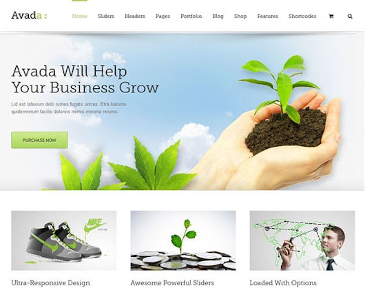 I will customize Avada Theme and create a Attractive website