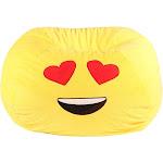 Bean Bag Heart Eyes - GoMoji