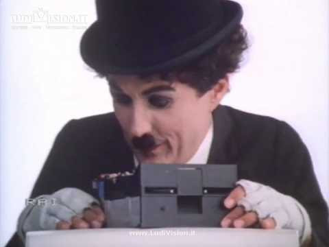 IBM Personal Computer con Charlie Chaplin #6 (1985)