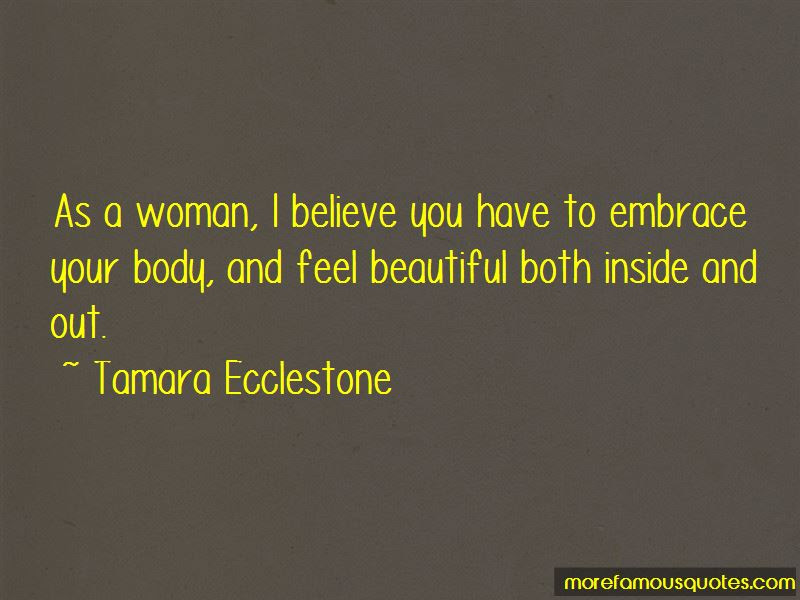 Embrace Your Body Quotes Top 22 Quotes About Embrace Your Body From