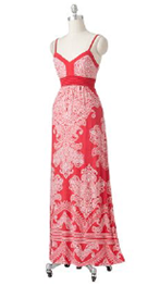 Apt. 9 Mosaic Empire Maxi Dress