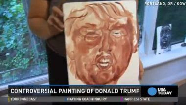 Dr. Duke and Dr. MacDonald discuss Jewess Who Paints Portrait of Trump in Her Menstrual Blood to Support Immigration!