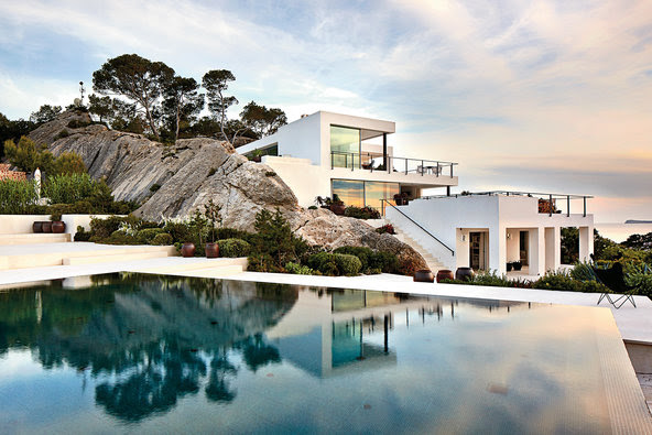 The art collector Friedrich Christian ''Mick'' Flick's house, named Casablanca, currently on the market for $12 million.