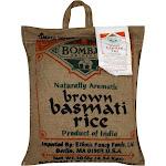 Bombay Rice, Brown Basmati - 10 lb