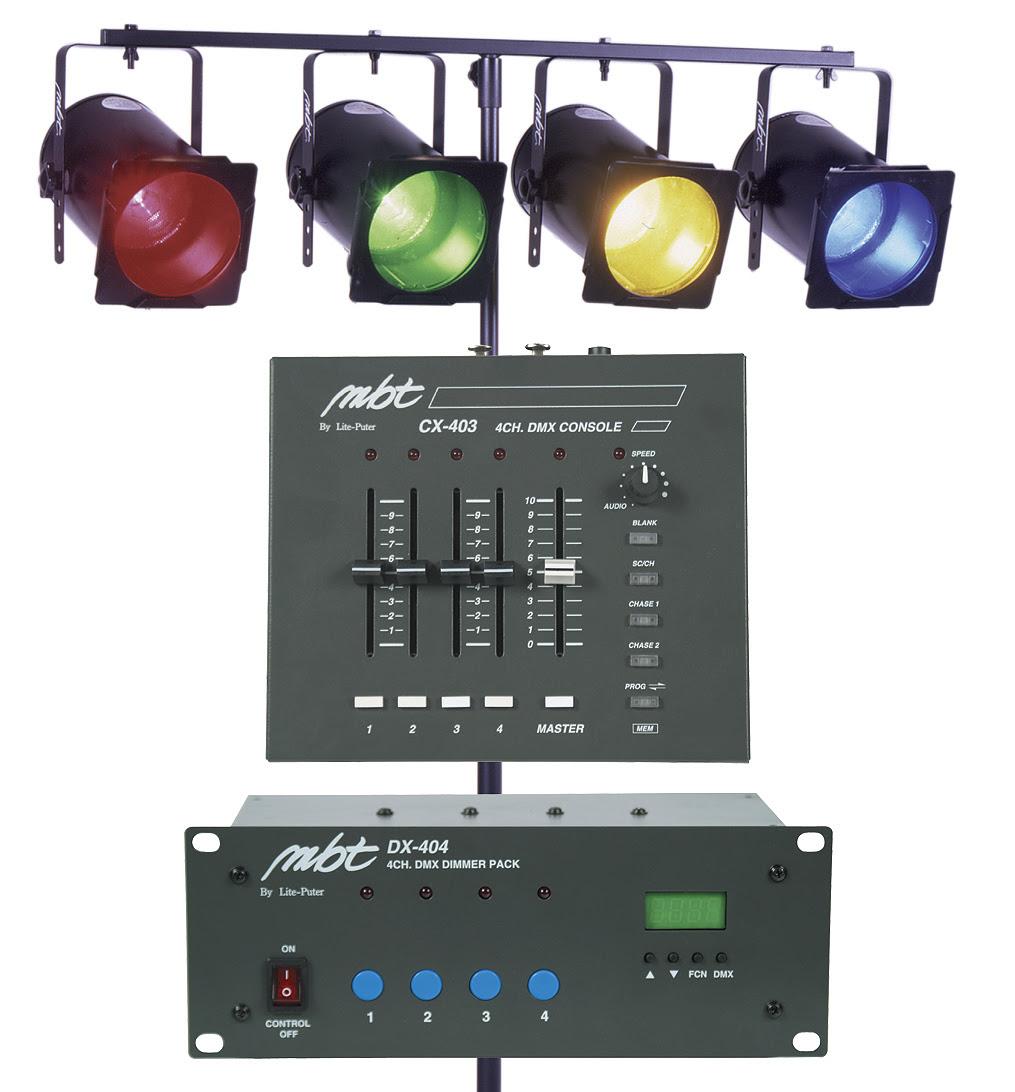 MBT Lighting DJ403 Mobile DJ Lighting System   ActiveMusician