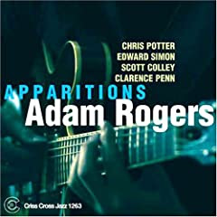 Adam Rogers - Apparitions cover