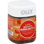 Olly Mighty Immunity, Kids, Gummies, Cherry Berry - 50 gummies