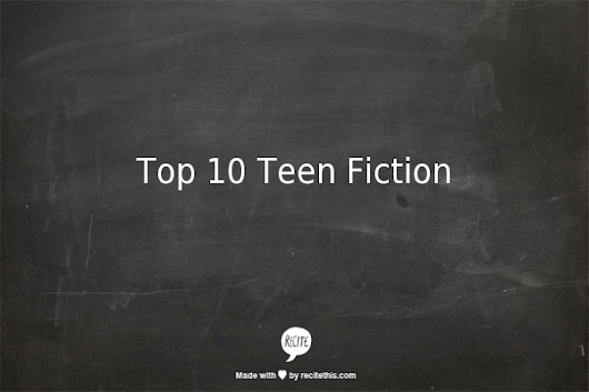 Top 10 Teen Fiction - Cécile Sune