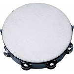 Rhythm Band 6 Polyfiber Head Tambourine