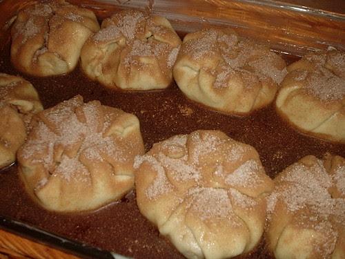 Apple Dumplings before
