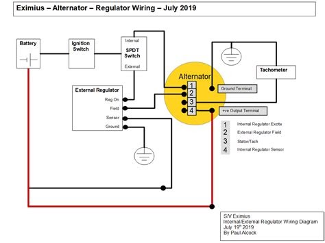 pdf 3 wire alternator internal regulator wiring diagram