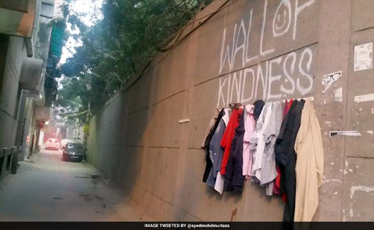 Kindness Has No Boundaries, These Walls Are Proof - Everylifecounts.NDTV.com