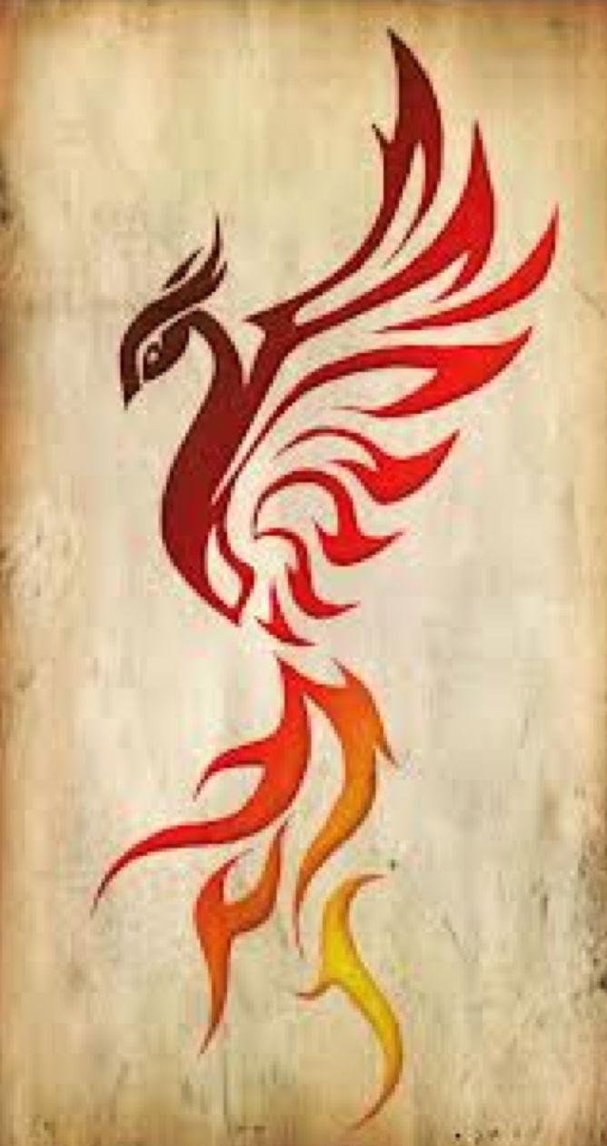 Jonat Simple Phoenix Tattoos