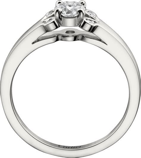 CRN4197600   Ballerine Solitaire   Platinum, diamond   Cartier