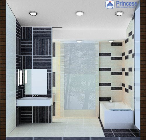 Design Sweet Home desain kamar mandi minimalis  solo