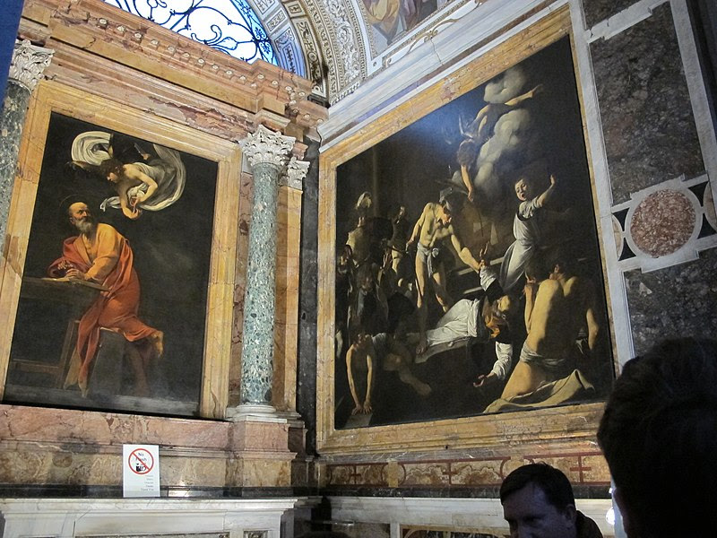 File:San luigi dei francesi, interno, cappella contarelli 03.JPG