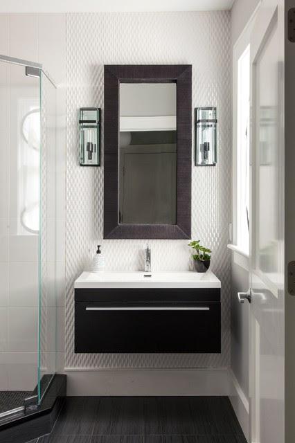 Powder Rooms & Small Bath Ideas - Contemporary - Bathroom ...