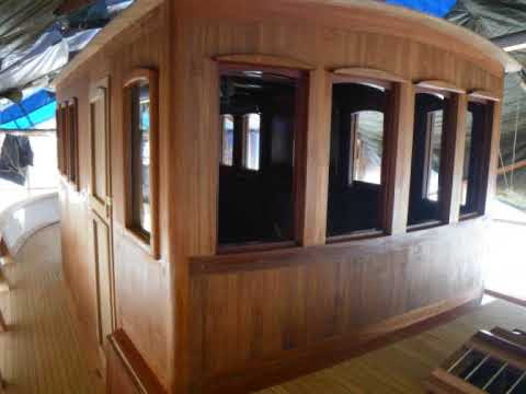 """Wooden boat building- """"Noroy"""" story - YouTube"""