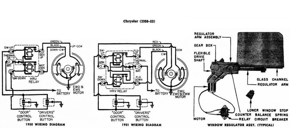 1950 Chrysler Wiring Diagram