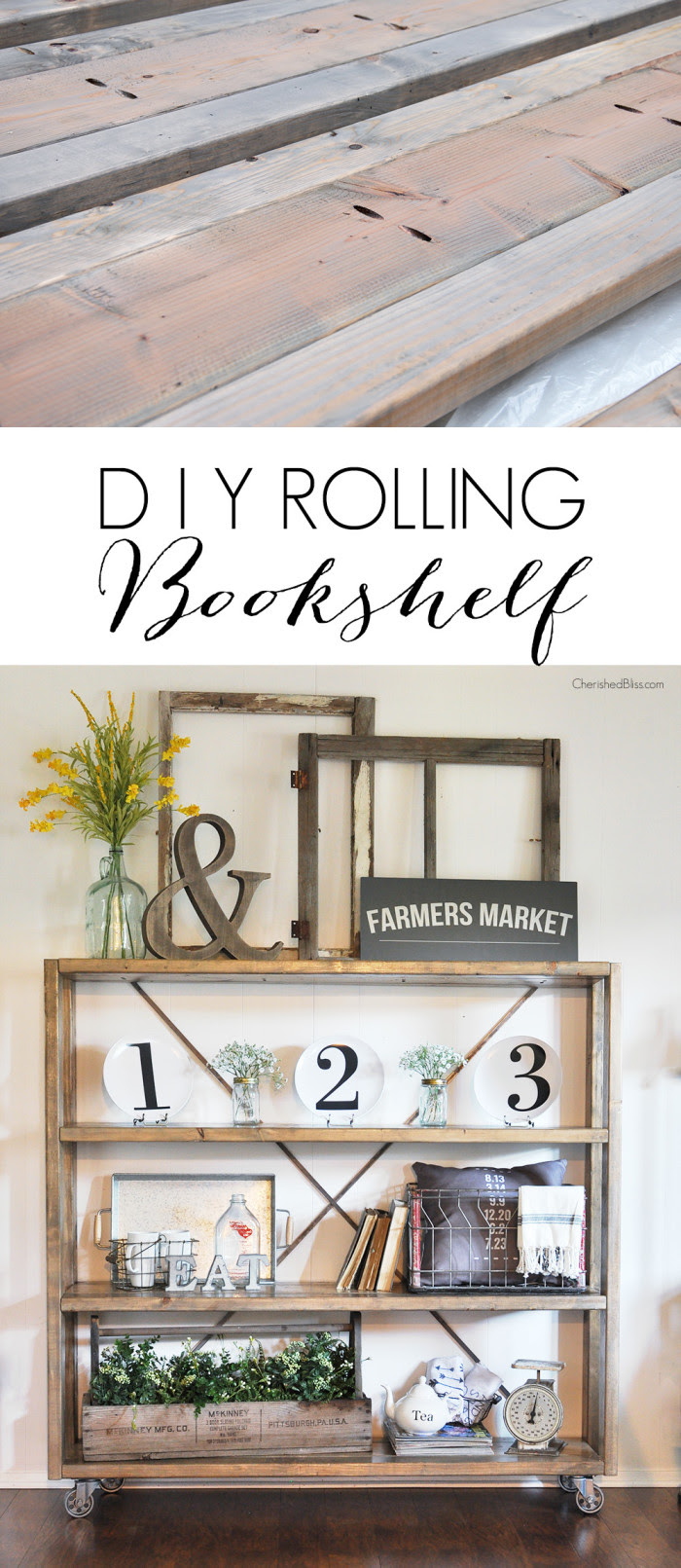 DIY-Rolling-Bookshelf-700x1611