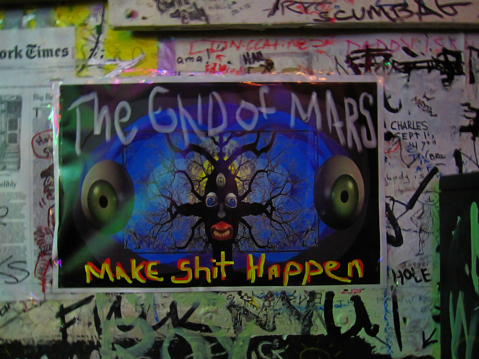 The end of Mars