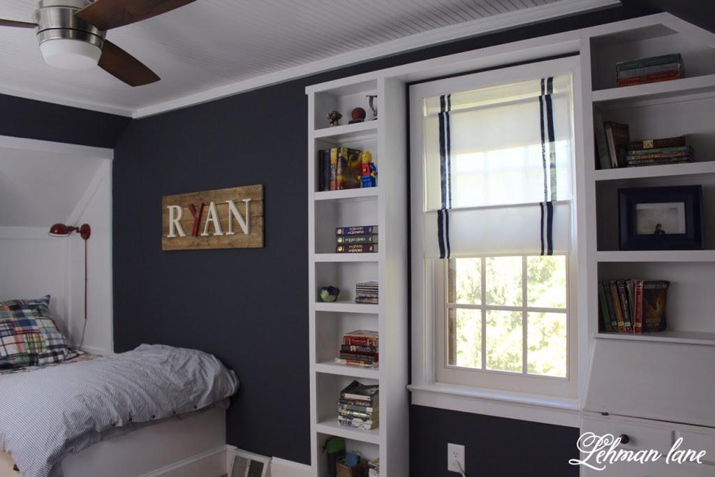 Final Reveal Ryans Built In Boys Blue Bedroom One Room