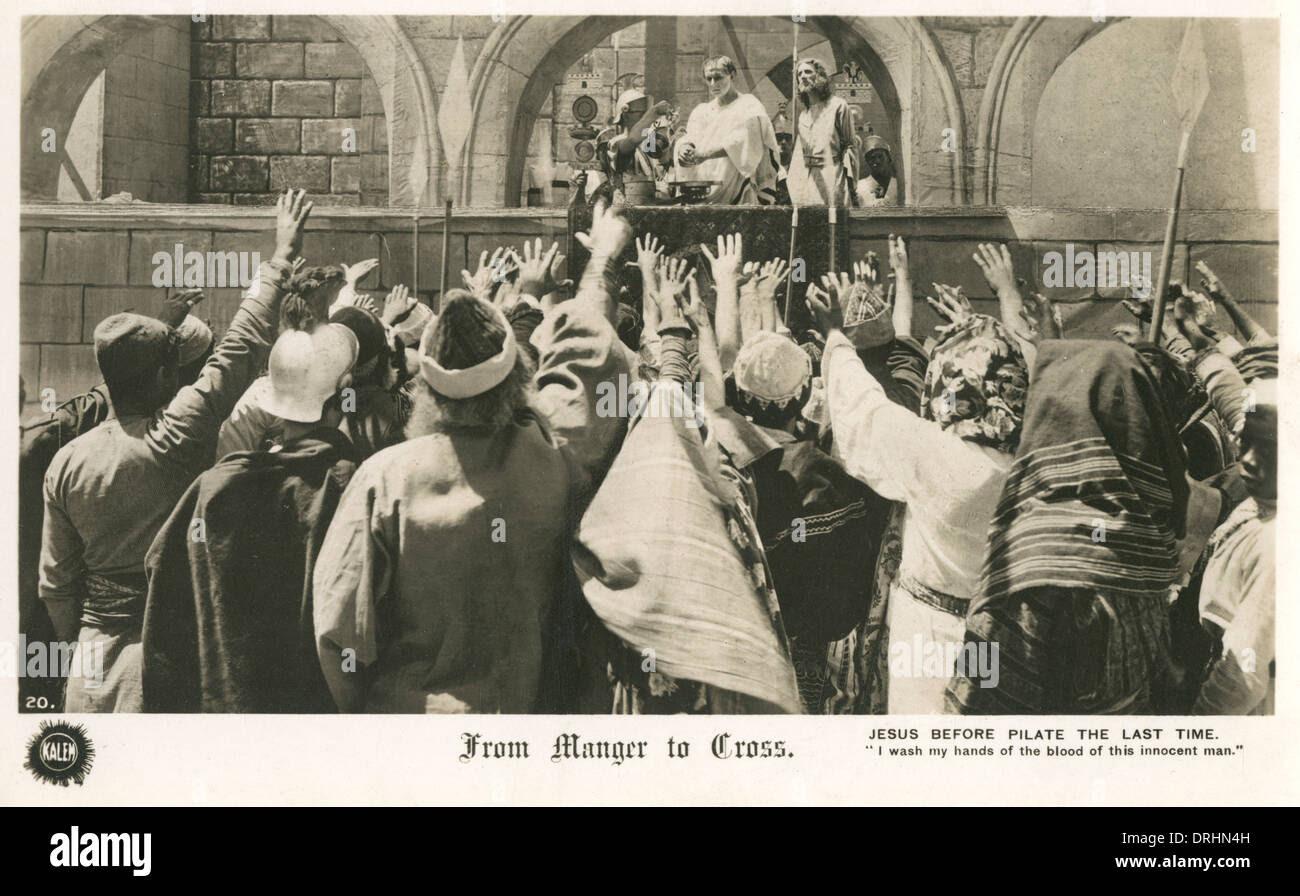 Resultado de imagem para rom the Manger to the Cross poster 1912