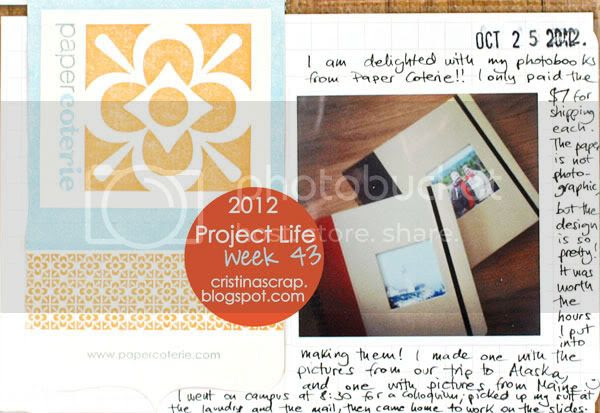 Project Life - Week 43
