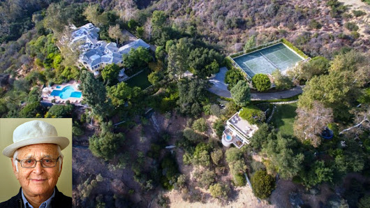 Norman Lear lists his Brentwood compound