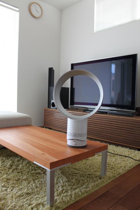 わんこと一緒にきこりんハウス♡:ダイソンの扇風機レポ