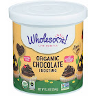 Wholesome Frosting, Organic, Chocolate - 12.5 oz