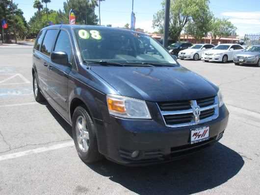 Used 2008 Dodge Grand Caravan SXT for Sale in Las Vegas NV 89110 RT Motorsports Auto Sales