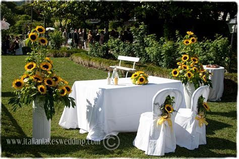 Sunflowers and Lemons   Yellow Themed Wedding in Italy