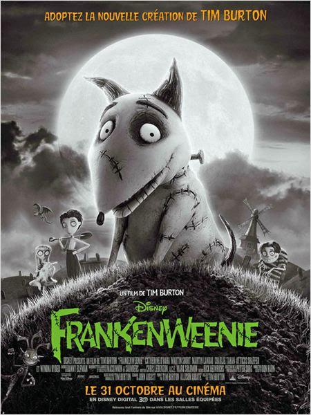 Frankenweenie : affiche