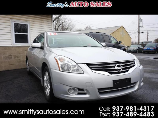 Used 2012 Nissan Altima 2.5 for Sale in Greenfield OH 45123 Smitty's Auto Sales