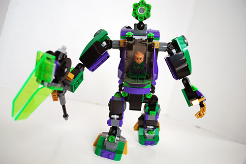 LEGO Review – Lex Luthor Mech Takedown [76097]