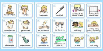 1000+ images about Visual aids on Pinterest | Activities, Search ...